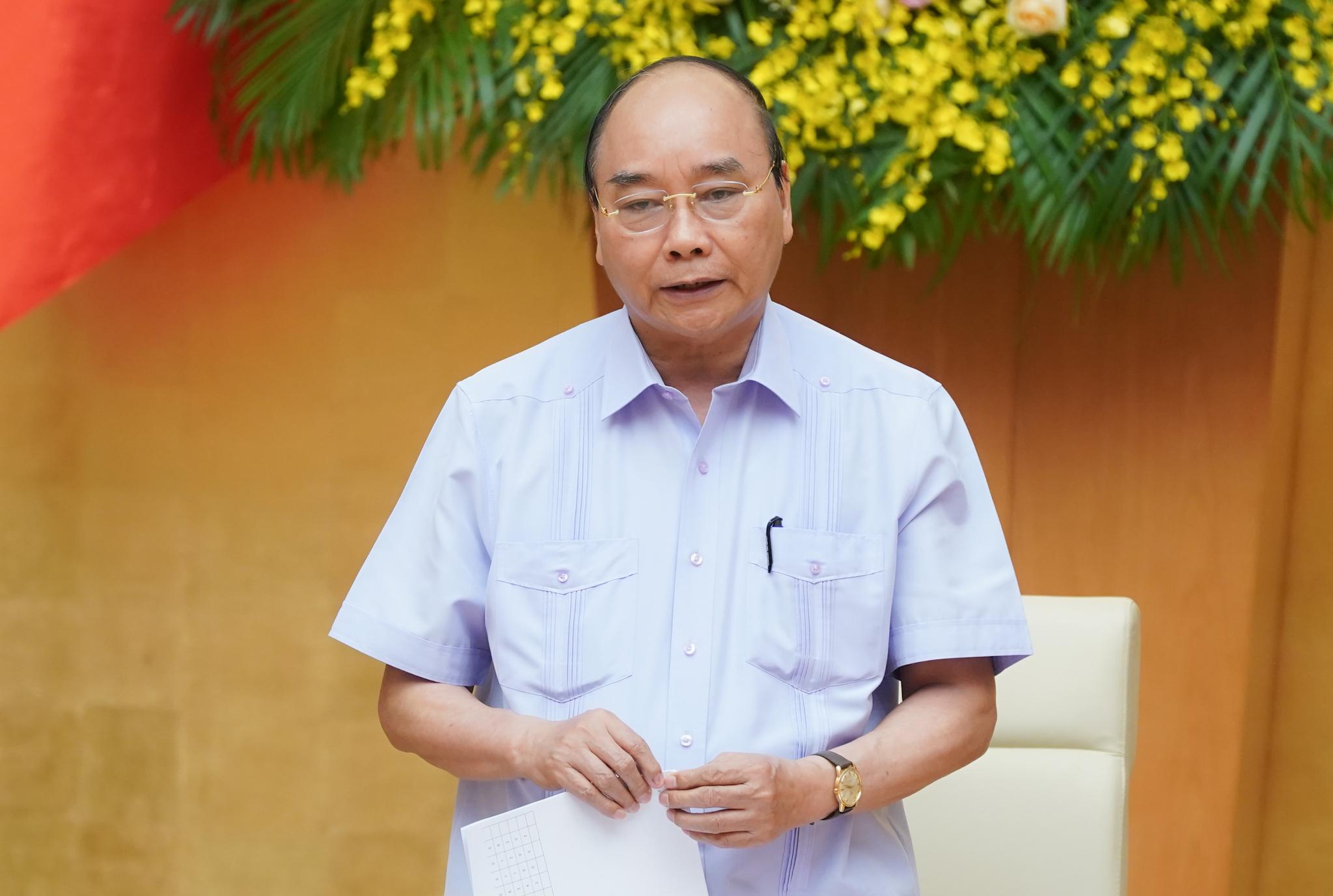 Thủ tướng Chính phủ Nguyễn Xuân Phúc phát biểu tại Hội nghị