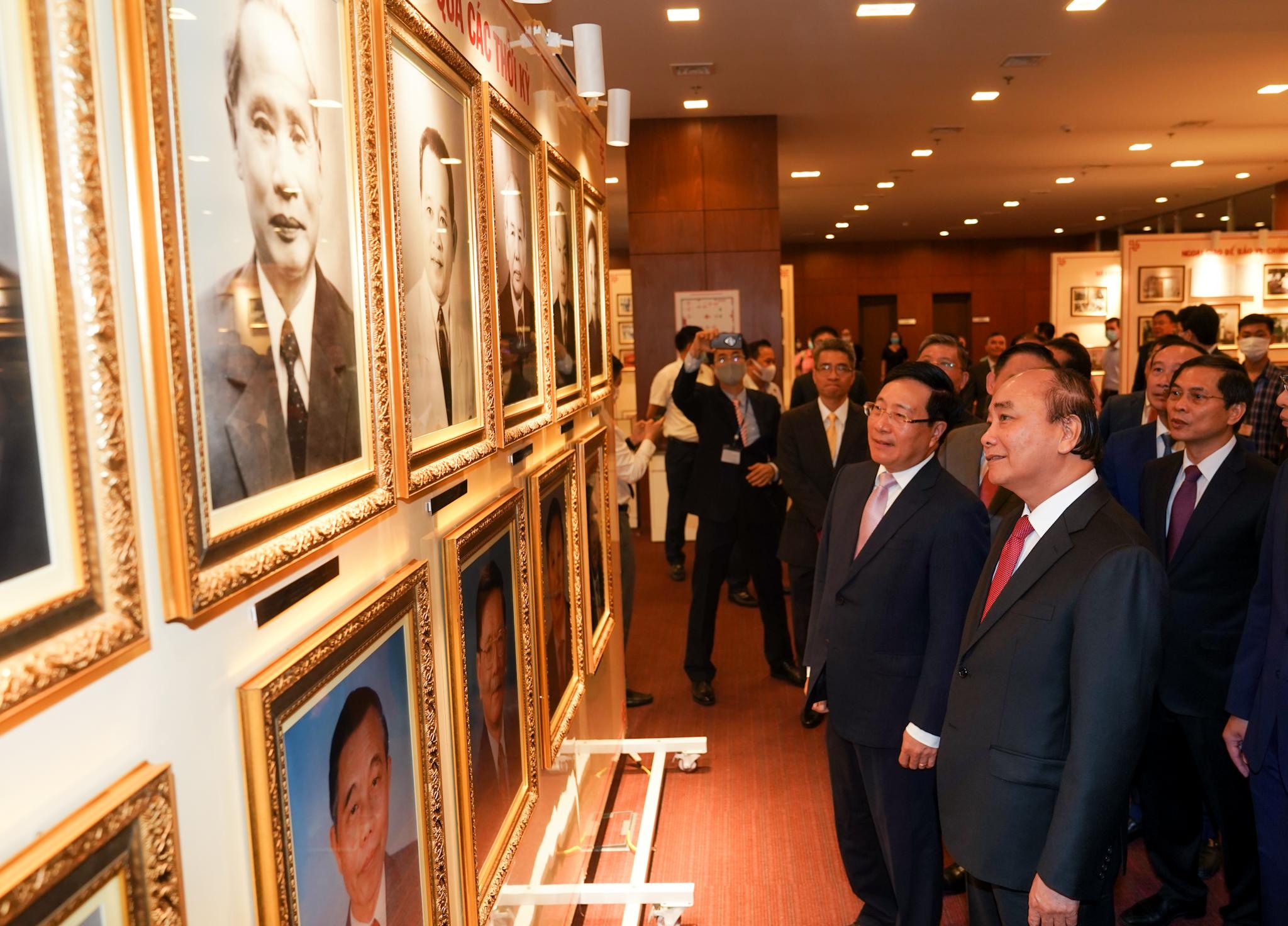 Thủ tướng dự kỷ niệm 75 năm thành lập ngành ngoại giao Việt Nam 6