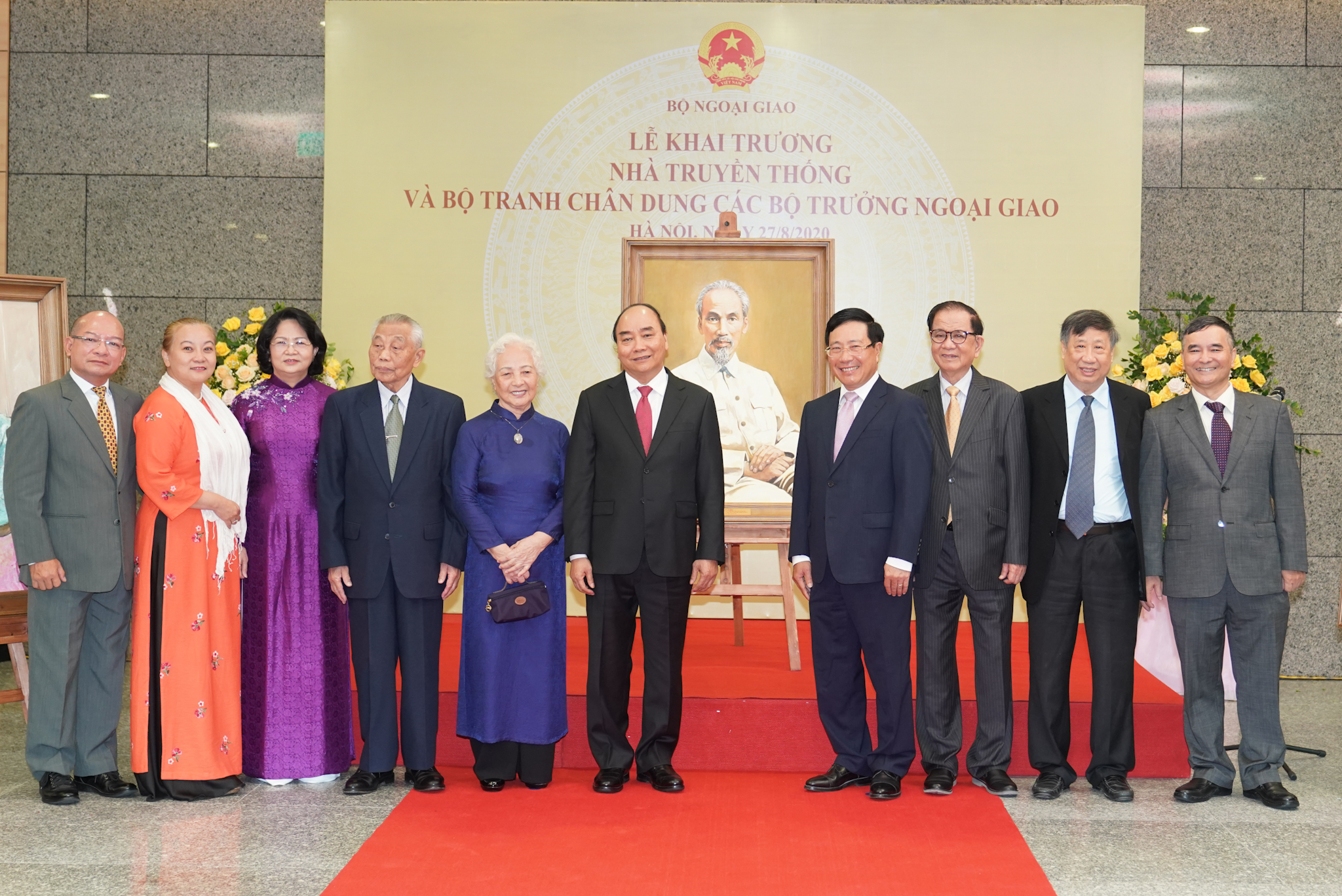 Thủ tướng dự kỷ niệm 75 năm thành lập ngành ngoại giao Việt Nam 4
