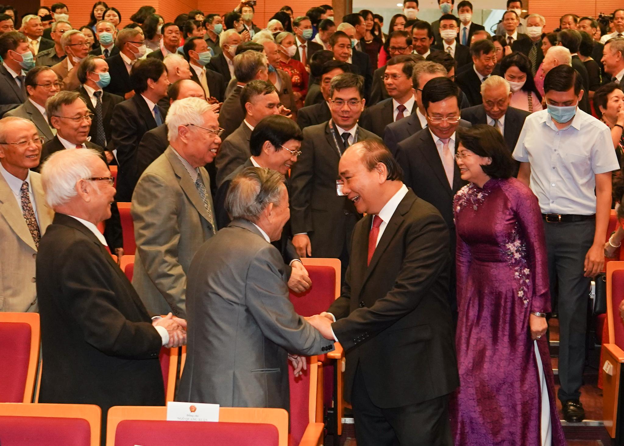 Thủ tướng dự kỷ niệm 75 năm thành lập ngành ngoại giao Việt Nam 2