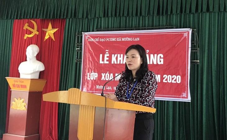 Quyết tâm đạp xe hơn 70 km đi học cấp 3 trường huyện, Tòng Thị Quyên giờ là Phó Phòng Giáo dục huyện, hiện là Thạc sỹ đầu tiên và duy nhất của xã Mường Lạn - quê hương của cô.