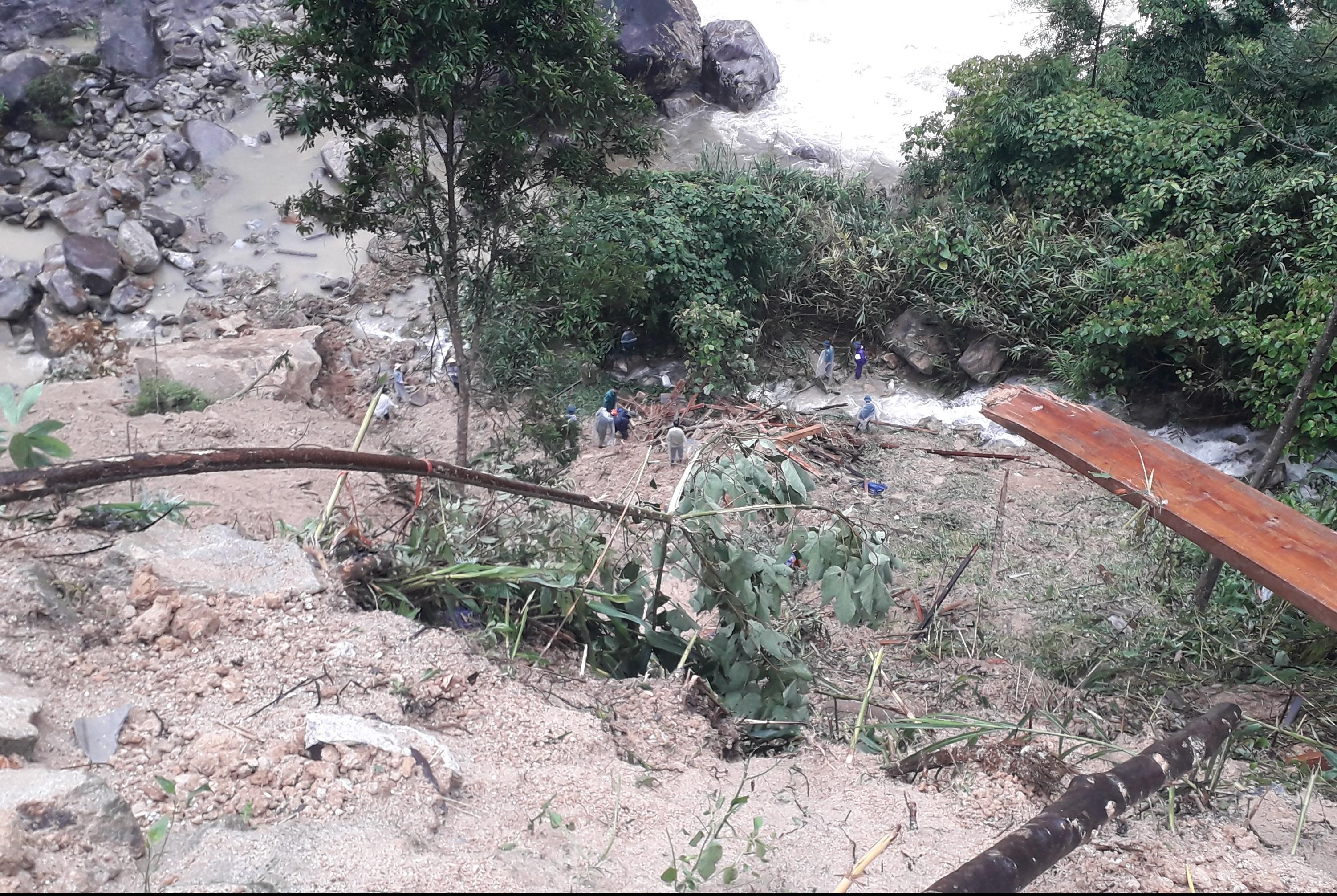 Lào Cai: Mưa lũ làm 2 người chết, thiệt hại nhiều tài sản 2