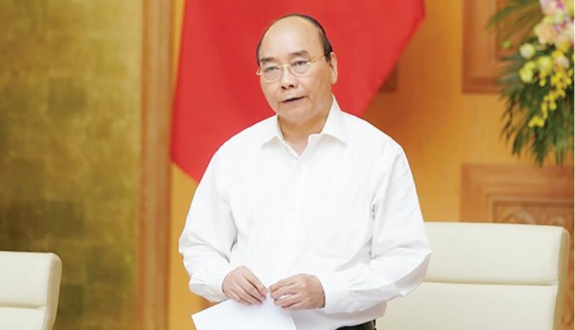 Thủ tướng Chính phủ Nguyễn Xuân Phúc phát biểu kết luận phiên họp