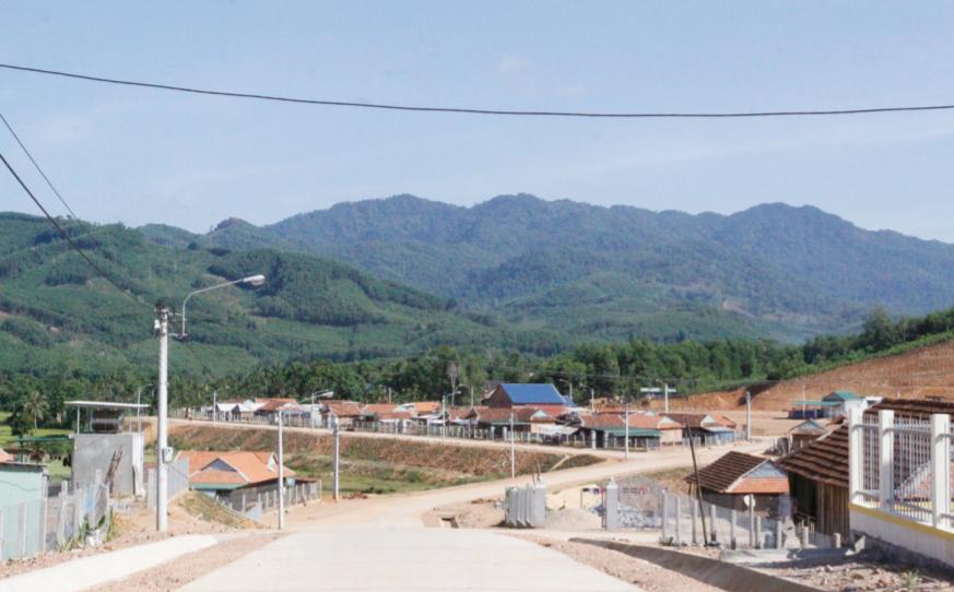 Nhờ nguồn vốn từ Chương trình 30a, huyện An Lão đã đầu tư xây dựng hoàn thiện hạ tầng các khu dân cư