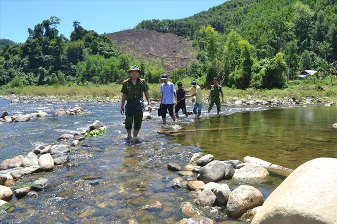 Con sông nơi ông Đinh Văn Soi bị các đối tượng vứt xác sau khi ra tay sát hại