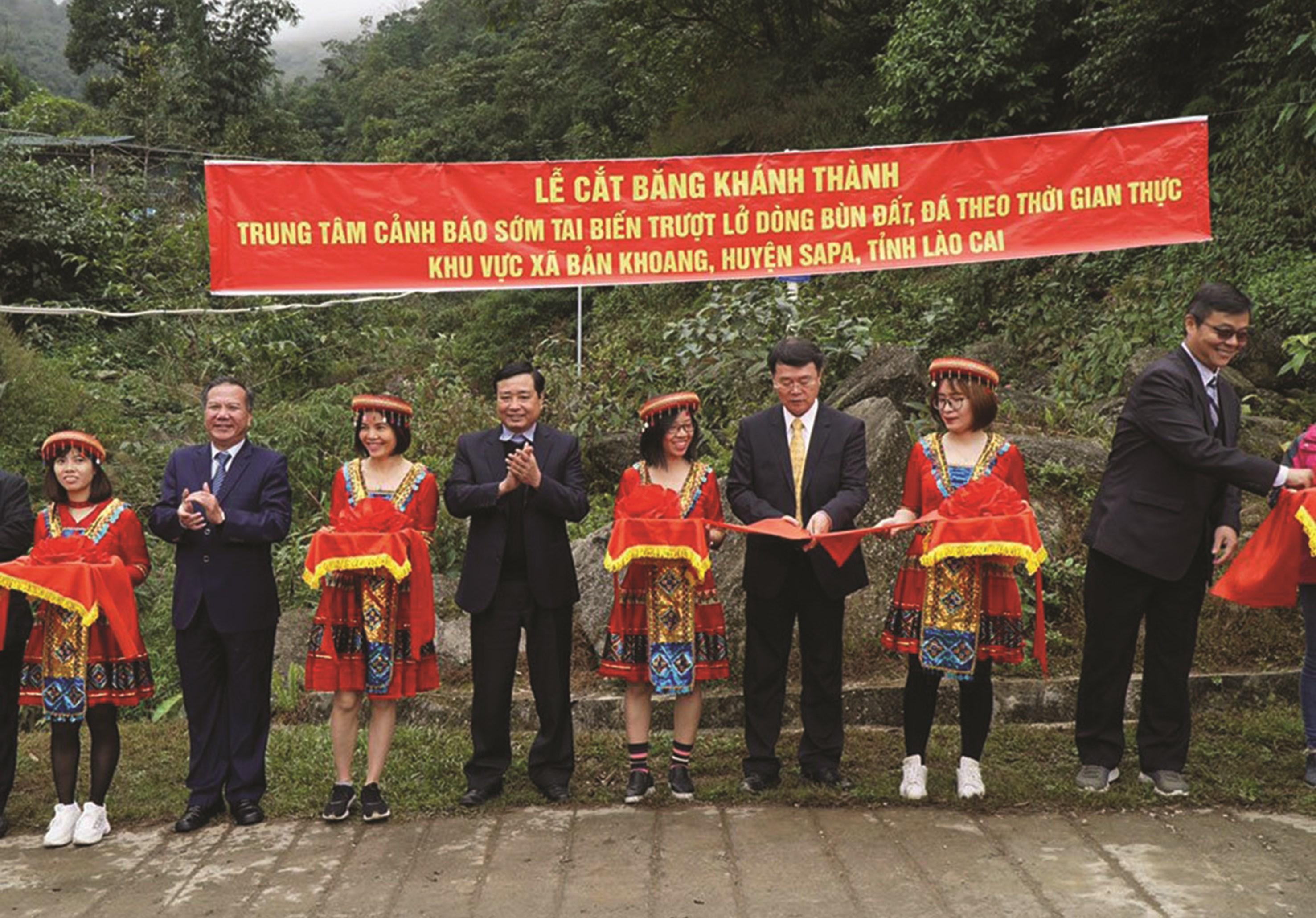 Lào Cai là một trong những tỉnh đi đầu trong việc hoàn thiện hệ thống cảnh báo thiên tai