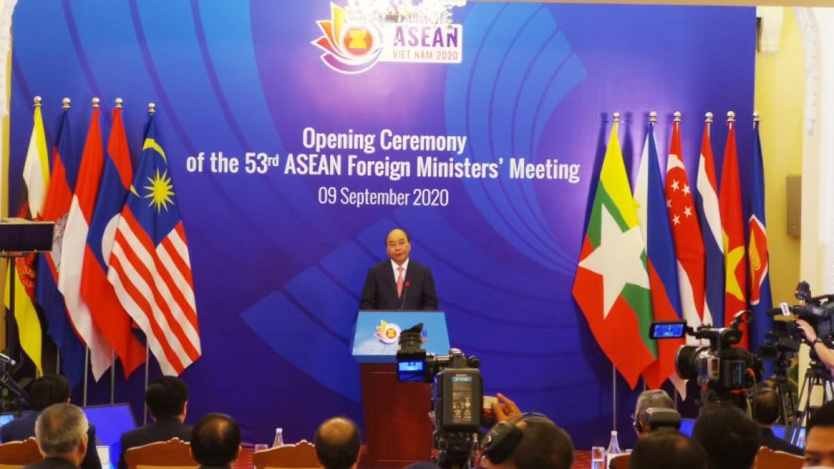 Khai mạc Hội nghị Bộ trưởng Ngoại giao ASEAN lần thứ 53 (AMM 53).