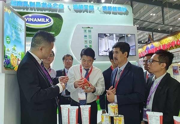 Sản phẩm của Vinamilk tạo được ấn tượng tốt với các đối tác phân phối tại Trung Quốc khi ra mắt hồi tháng 9/2019