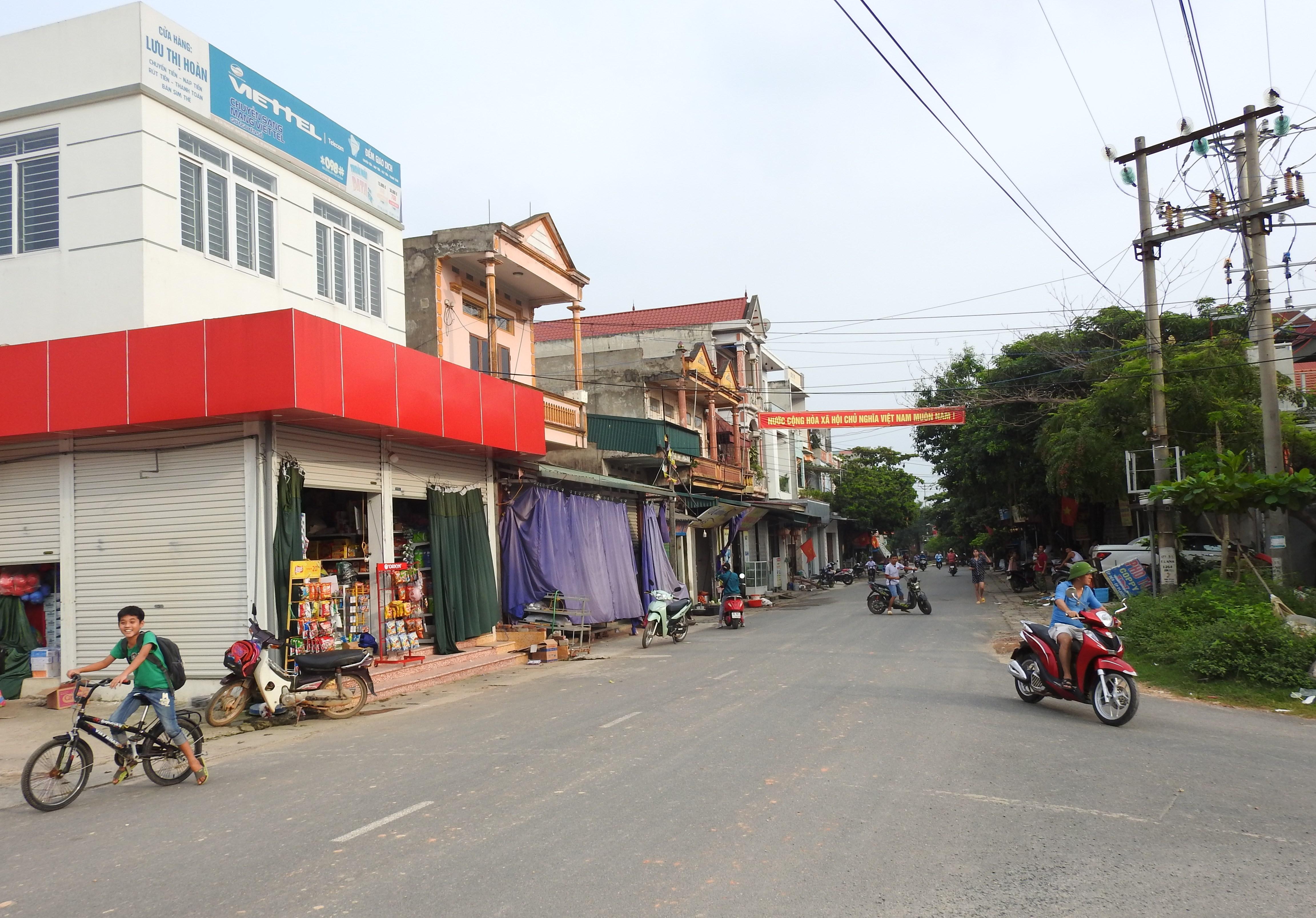 Xã Trung Mỹ, huyện Bình Xuyên (Vĩnh Phúc) đang trên đà phát triển