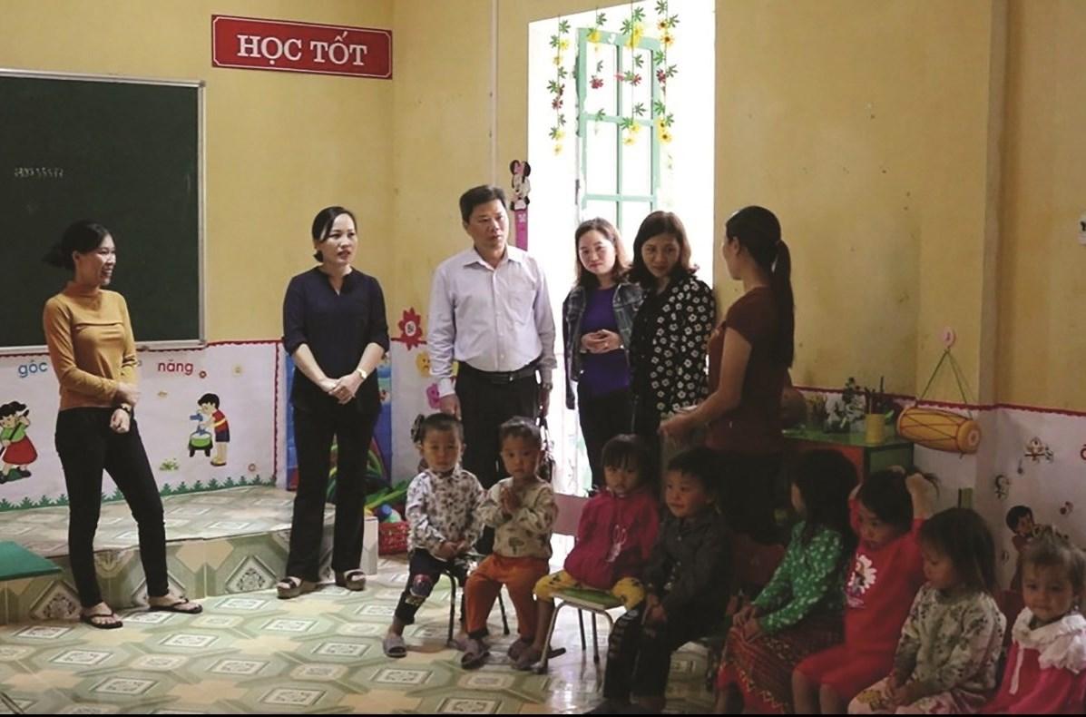 Tỉnh Lào Cai đang khẩn trương kiểm tra, rà soát cơ sở vật chất trường, lớp học nhất là các điểm trường vùng sâu, vùng xa