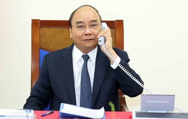 Thủ tướng Nguyễn Xuân Phúc khẳng định Việt Nam coi trọng quan hệ Đối tác chiến lược với Đức, nước có vai trò và vị thế quan trọng hàng đầu ở châu Âu và trên thế giới. Ảnh VGP