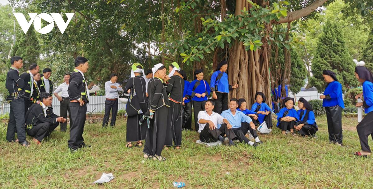 Hội Háng Pỉnh dịp trăng rằm của người Tày - Nùng 2