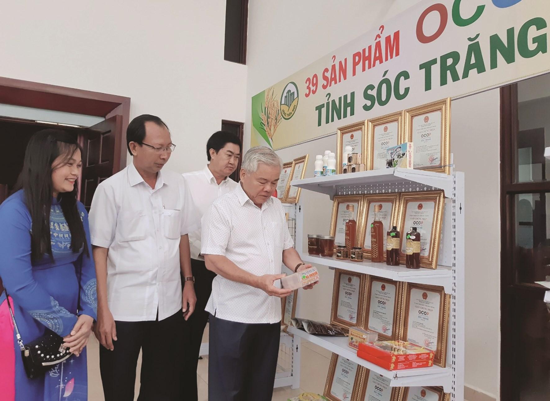 Sản phẩm OCOP của Sóc Trăng đã khẳng định được thương hiệu.