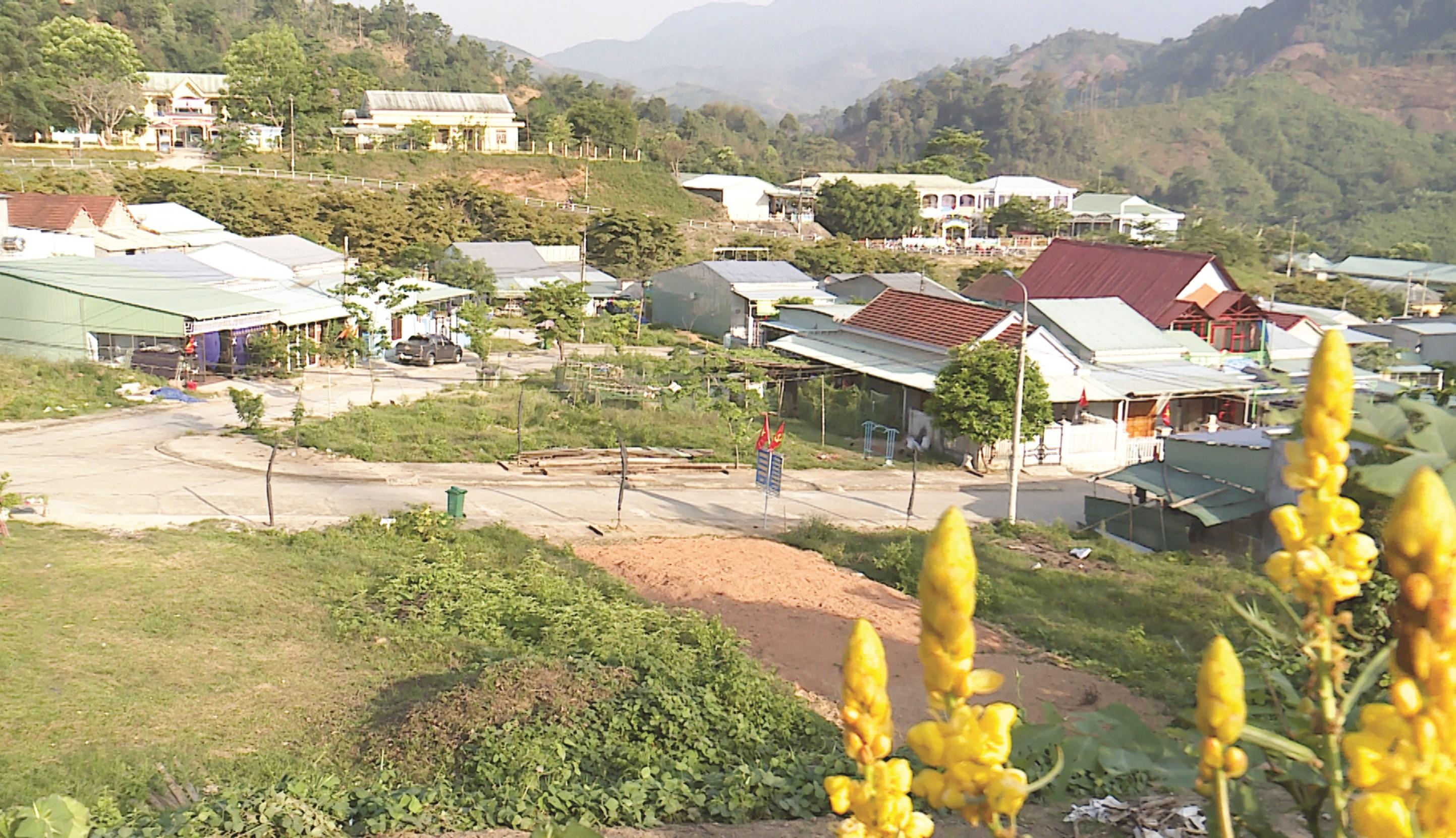 Một góc khu căn cứ Nước Là thuộc huyện Nam Trà My ngày nay.