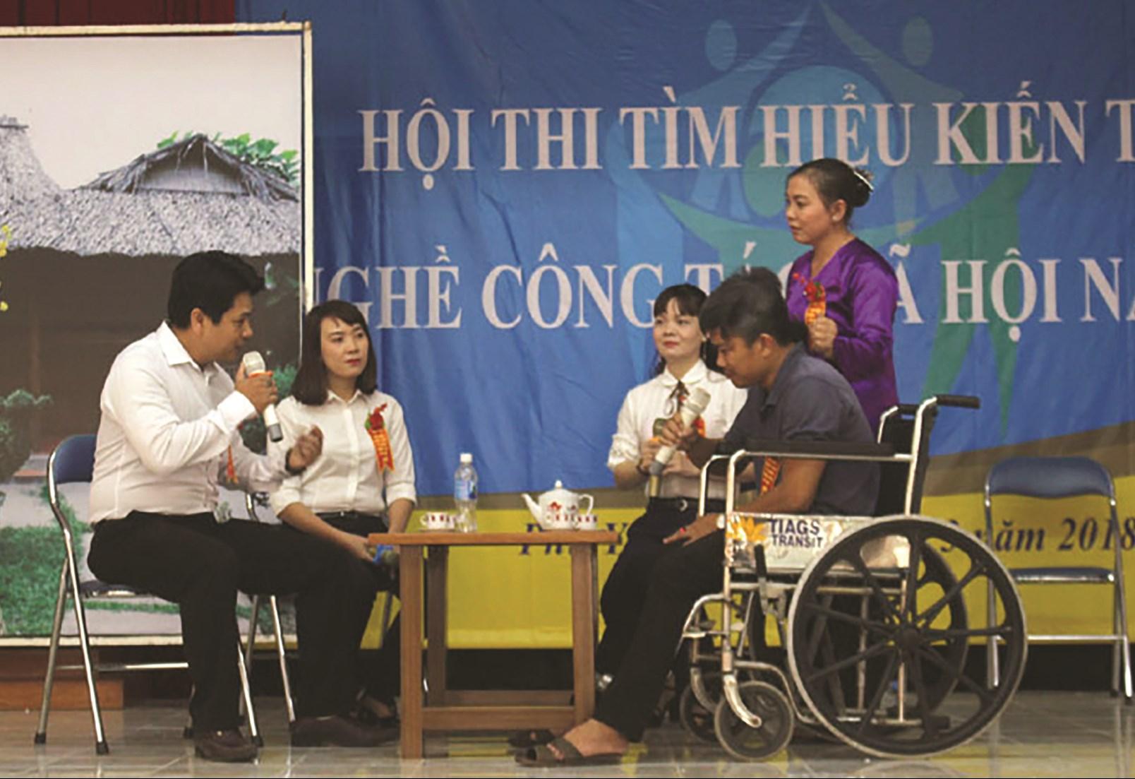 Phú Yên tổ chức các cuộc thi để hiểu hơn về nghề CTXH