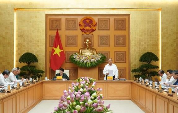 Thủ tướng Chính phủ Nguyễn Xuân Phúc và Chủ tịch Quốc hội Nguyễn Thị Kim Ngân đồng chủ trì Hội nghị