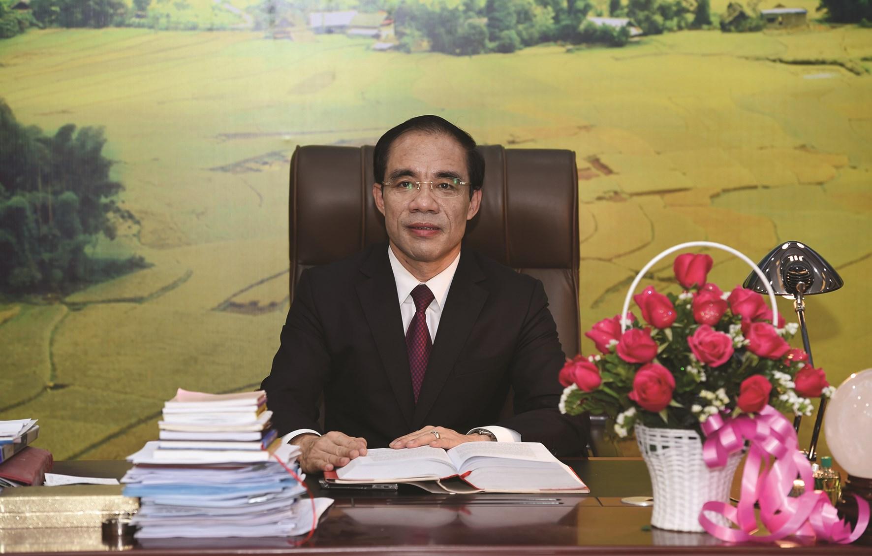 Đồng chí Chẩu Văn Lâm, Ủy viên BCH Trung ương Đảng, Bí thư Tỉnh ủy tỉnh Tuyên Quang