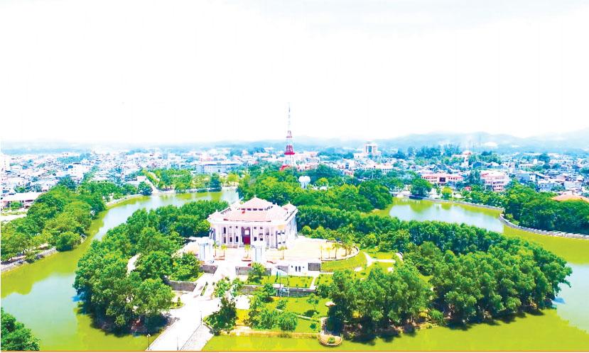 Một góc thành phố Tuyên Quang