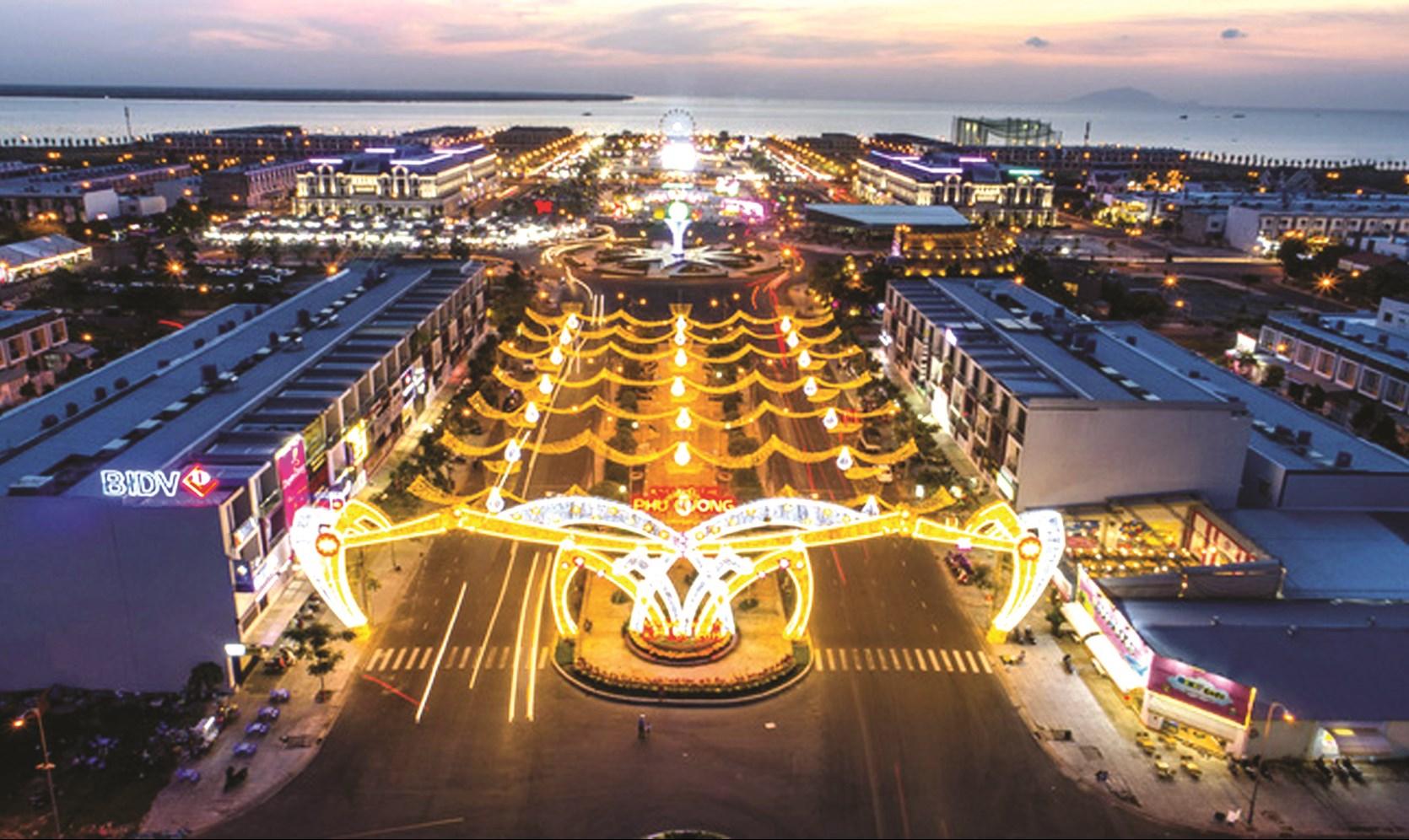 Khu đô thị Phú Cường, TP. Rạch Giá tạo nên một diện mạo mới cho khu đô thị lấn biển ở Kiên Giang.