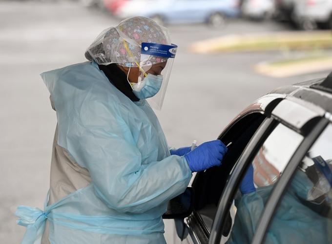 Mỹ tiếp tục là quốc gia chịu ảnh hưởng nặng nề vì đại dịch COVID-19 trên thế giới, trong đó đã 10 ngày liên tiếp, tiểu bang Pennsylvania ghi nhận hơn 1.000 ca nhiễm virus SARS-CoV-2 mỗi ngày. (Ảnh: Getty Images)