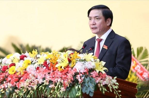 Ông Bùi Văn Cường, Bí thư Tỉnh ủy Đăk Lăk khóa XVI tái đắc cử Bí thư Tỉnh ủy khóa XVII