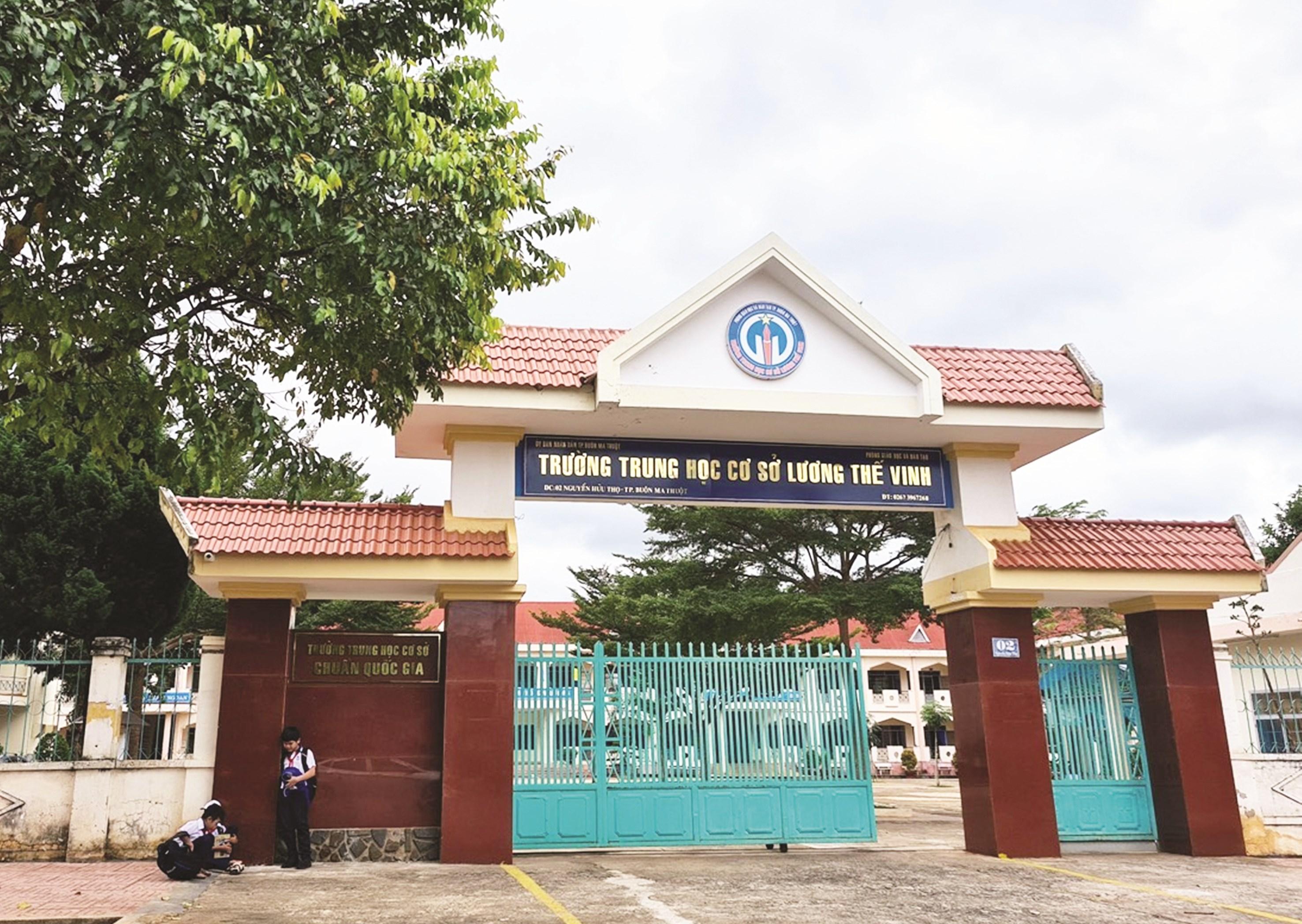 Trường THCS Lương Thế Vinh bị phụ huynh phản ánh có nhiều khoản thu không hợp lý