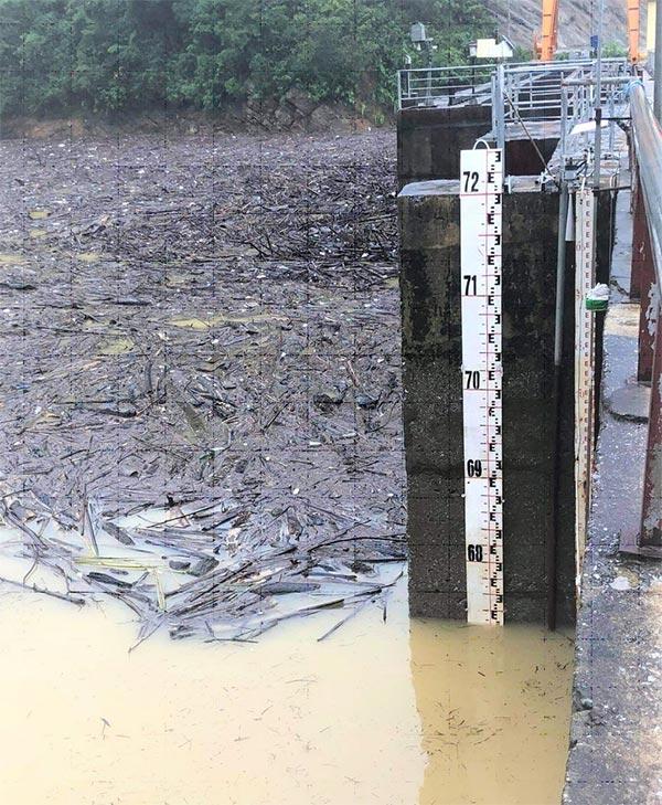 15h30 ngày 19/10, cao trình mực nước trong hồ Thủy điện Hố Hô là 67,25m