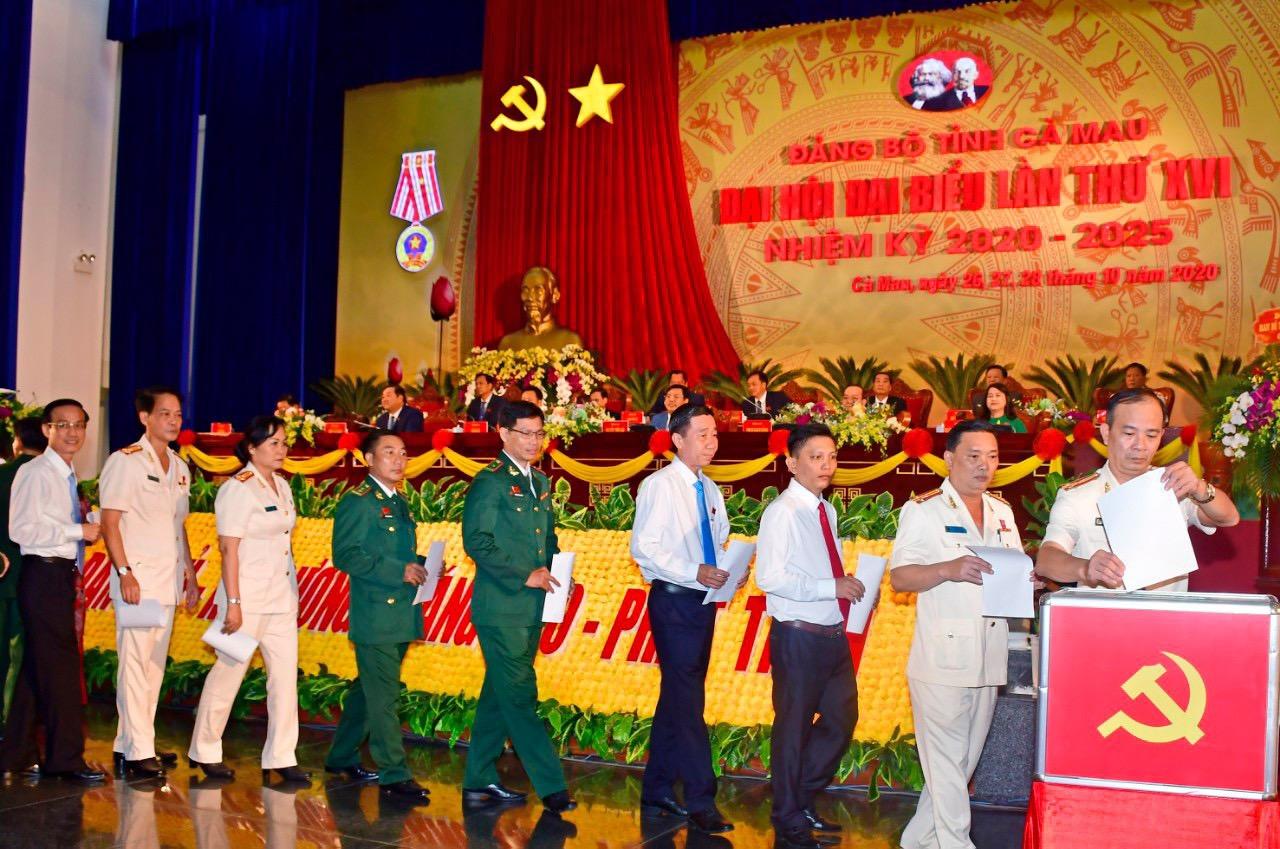Cà Mau: Long trọng khai mạc Đại hội Đảng bộ tỉnh lần XVI, nhiệm kỳ 2020 – 2025 4