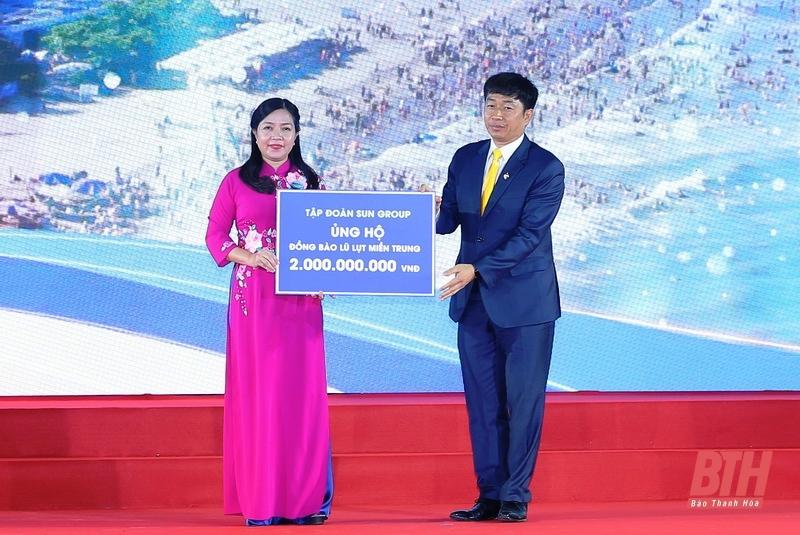 Tập đoàn Sun Guop ủng hộ 2 tỷ đồng cho bà con vùng lũ miền Trung