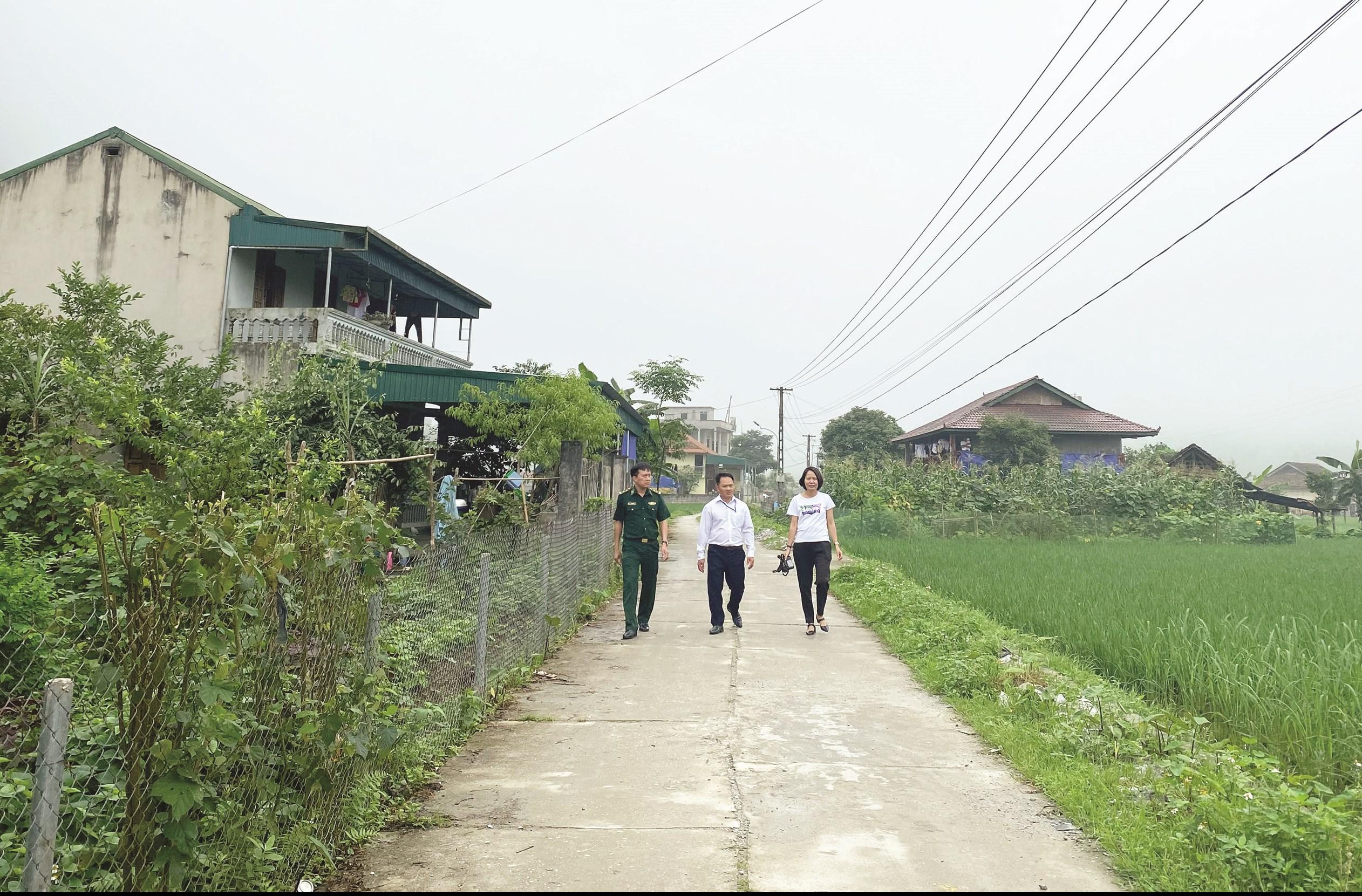 Đổi thay trên những con đường nông thôn miền núi Hà Giang.