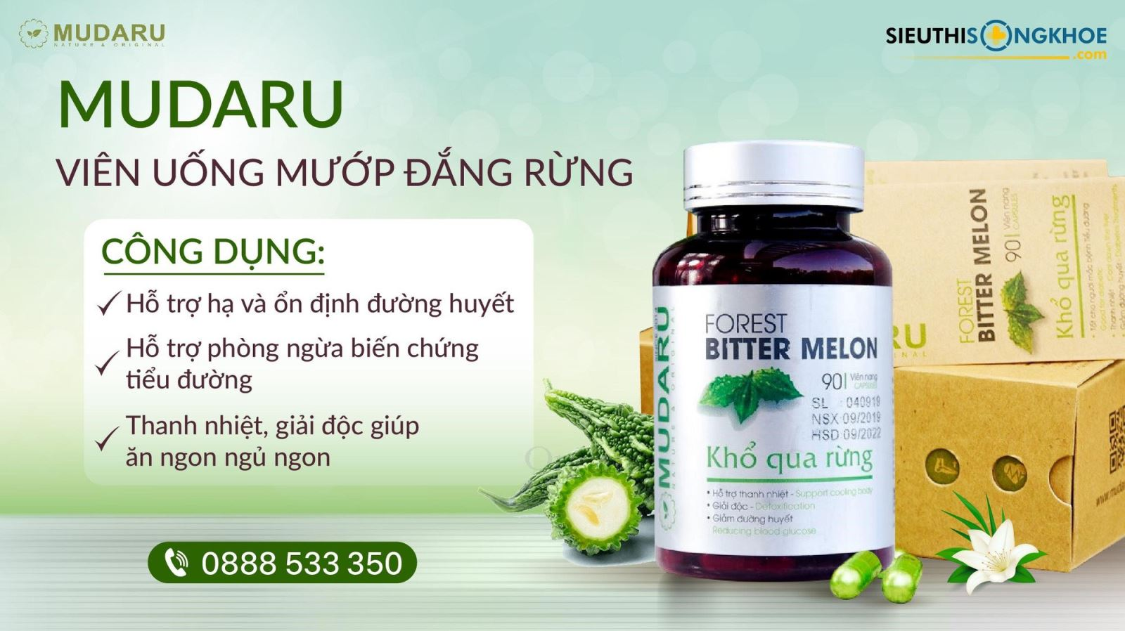 Viên Uống Mudaru - nâng tầm giá trị nông sản Việt 1