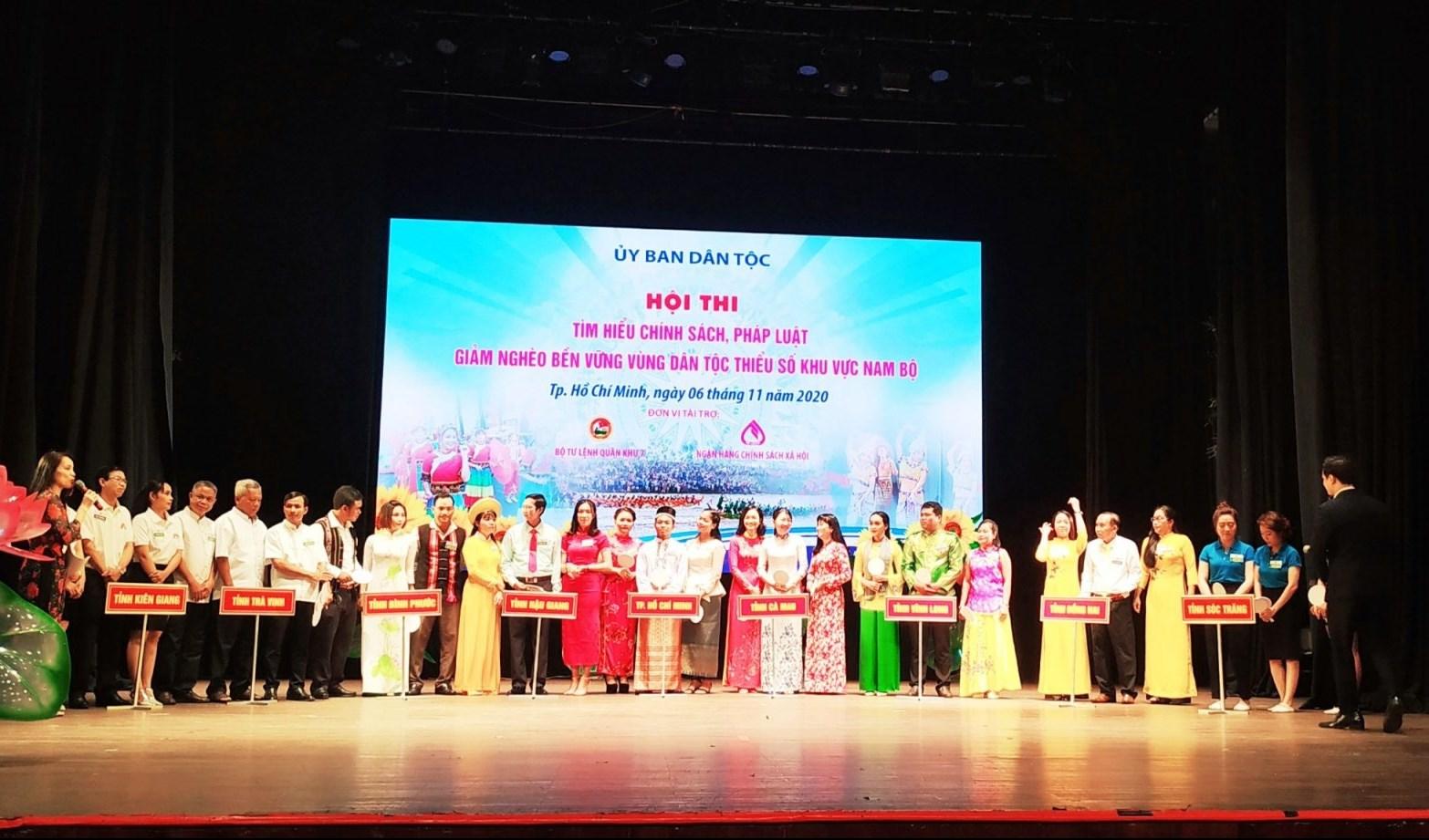 Hội thi diễn ra tại Nhà hát TP. HCM