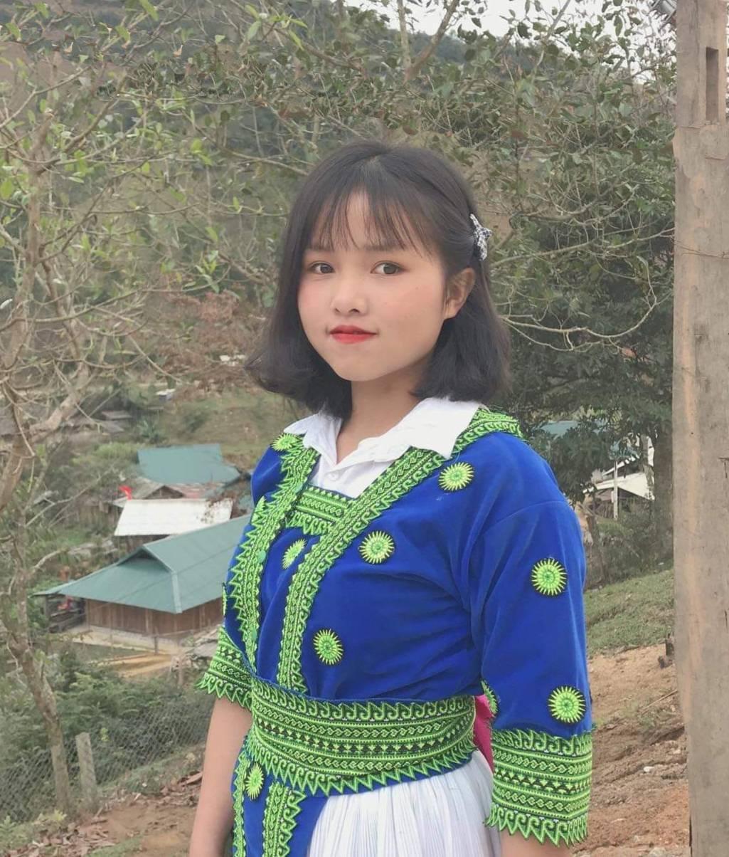 Hoàng Thị Lìn - Sinh viên Trường Đại học sư phạm Hà Nội