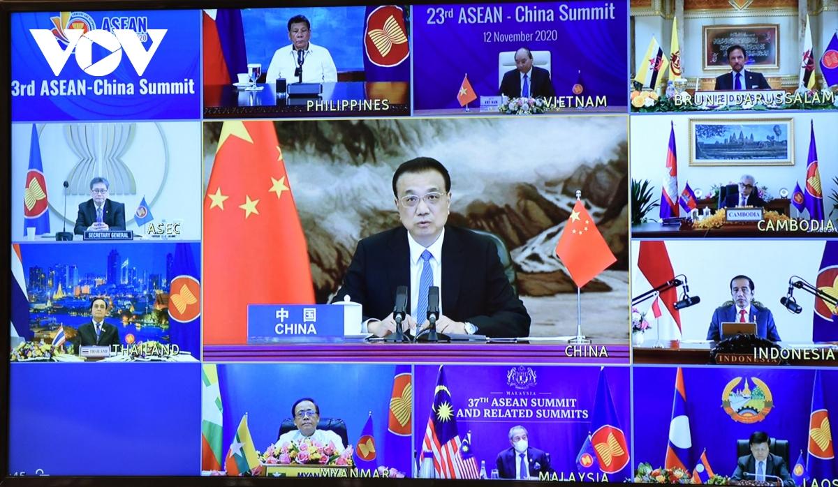 Thủ tướng Trung Quốc Lý Khắc Cường phát biểu tại Hội nghị.