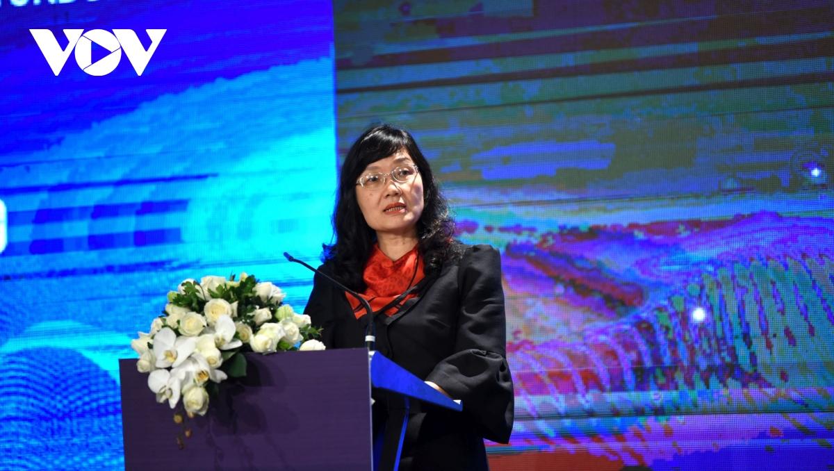 Tiến sĩ Phạm Lan Dung, Quyền Giám đốc Học viện Ngoại giao nêu bật vai trò của ASEAN trong vấn đề Biển Đông.