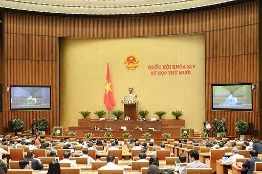 Phiên họp ngày 13/11 tại Hội trường.