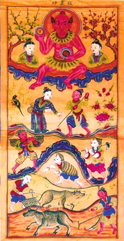 Thông điệp trong tranh thờ của người Cao Lan