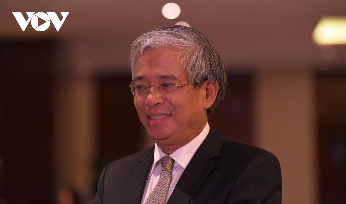 Nguyên Thứ trưởng Ngoại giao, nguyên Đại sứ Việt Nam tại Mỹ Phạm Quang Vinh.