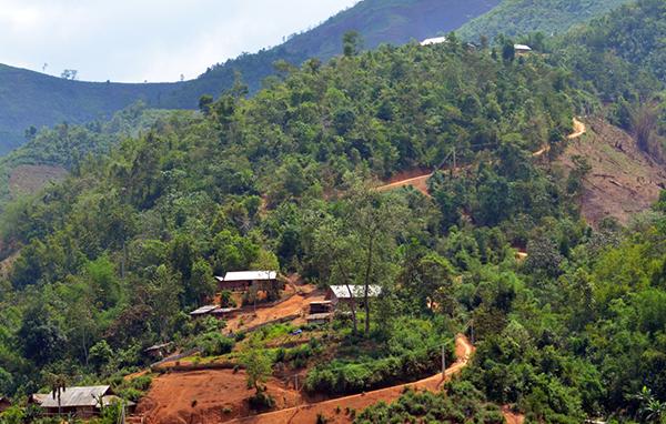 Một góc xã Pá Mỳ, huyện Mường Nhé