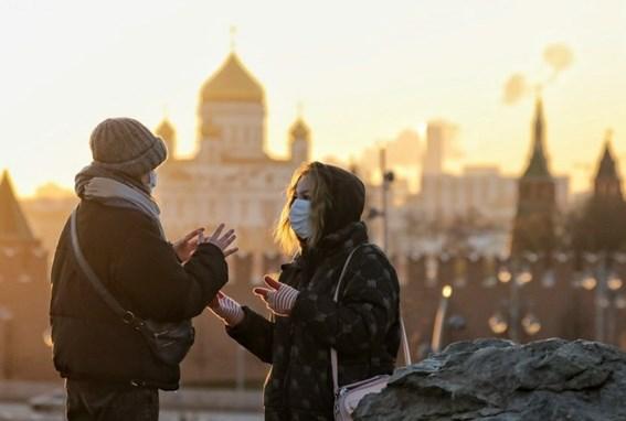 Số ca mắc tại Nga đã vượt mốc 2 triệu người, trong khi số ca nhiễm và tử vong theo ngày tăng ở mức cao mới. (Ảnh: Moskva News Agency)