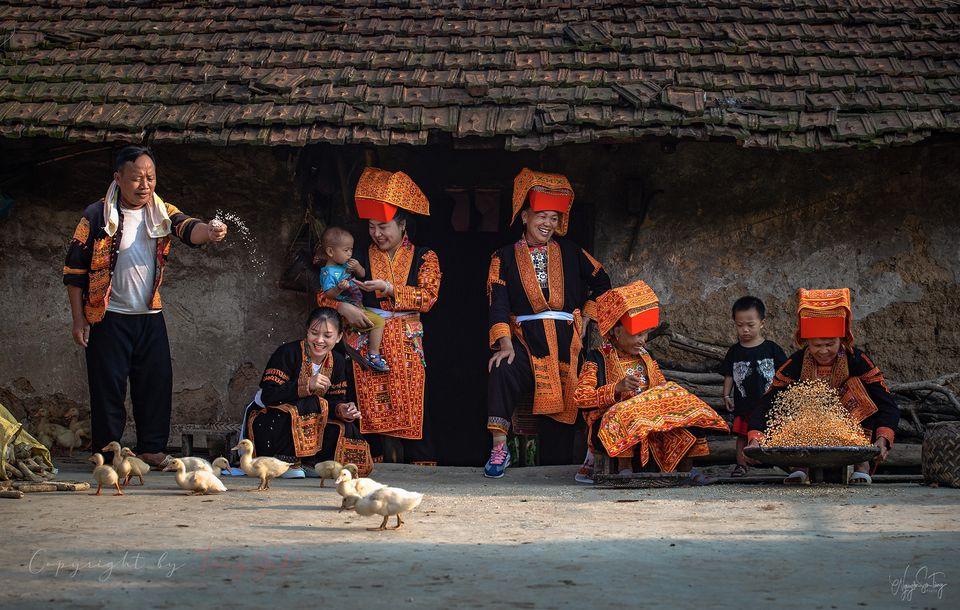 Niềm vui gia đình (Ảnh: Nguyễn Sơn Tùng)