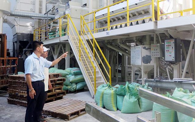 Doanh nghiệp đầu tư máy móc, để tăng năng xuất và chất lượng sản phẩm