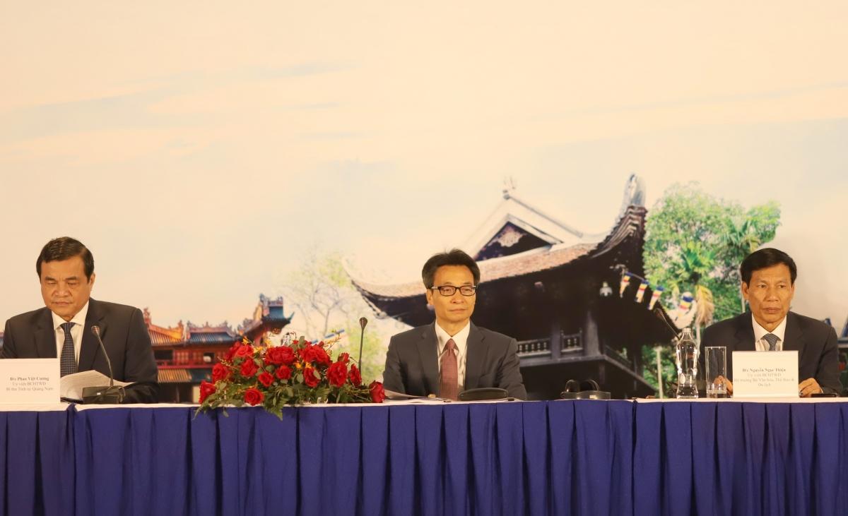 Phó Thủ tướng Vũ Đức Đam chủ trì hội nghị Tổng kết du lịch 2020.