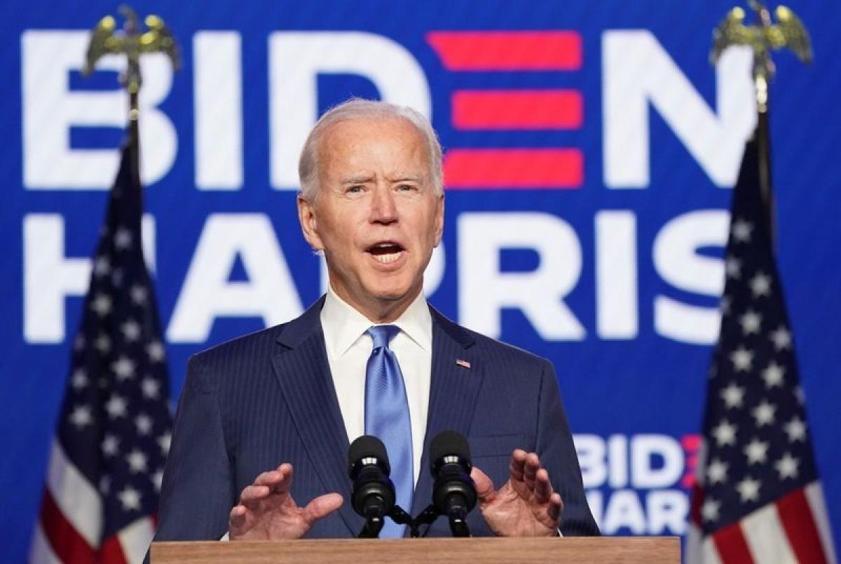 Tổng thống Hợp chúng quốc Hoa Kỳ Joe Biden. Ảnh: Reuters.
