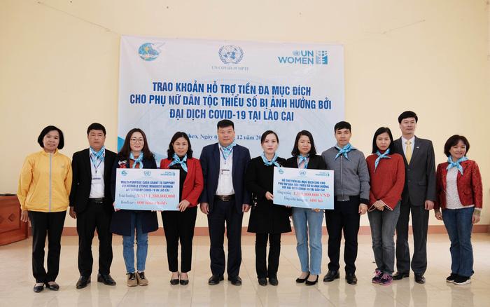 UN Women hỗ trợ phụ nữ dân tộc thiểu số bị ảnh hưởng bởi Covid-19 tại tỉnh Lào Cai