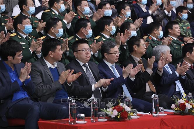 Đại biểu tham dự Lễ trao giải. Ảnh: Minh Quyết/TTXVN