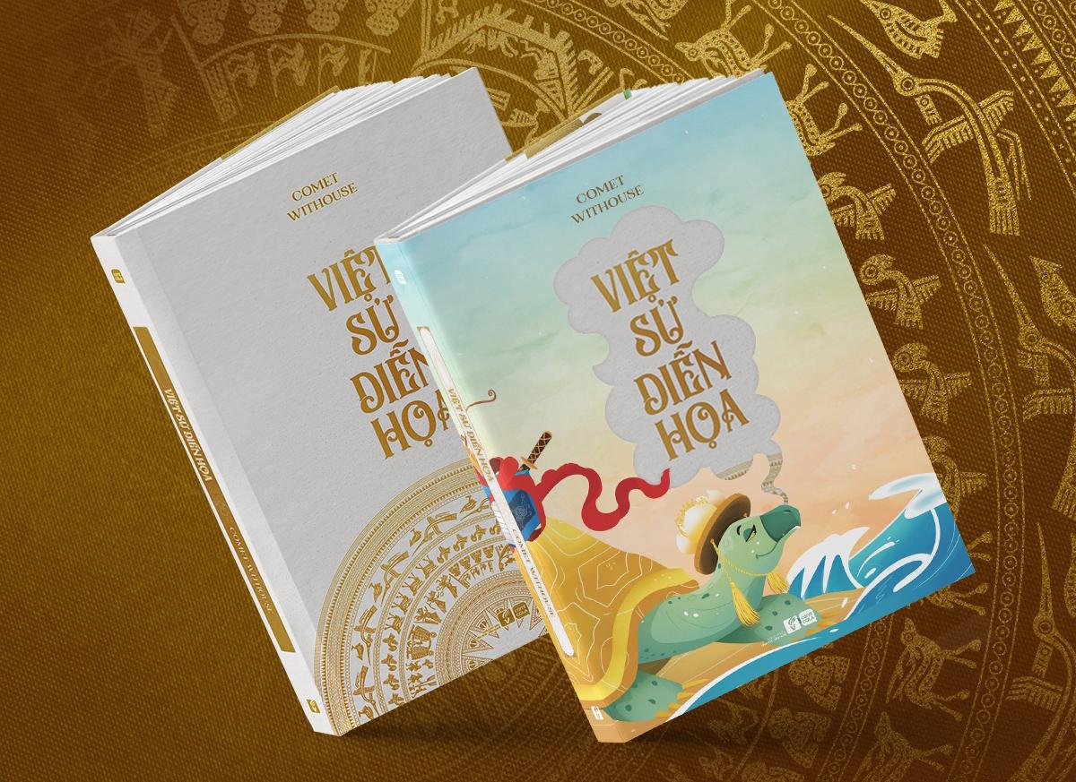 """Nữ họa sĩ mong muốn cuốn sách """"Việt sử diễn họa"""" sẽ trở thành hạt giống ươm mầm cho tình yêu lịch sử của những người con đất Việt"""