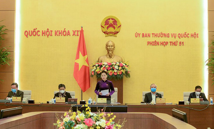 Chủ tịch Quốc hội Nguyễn Thị Kim Ngân phát biểu khai mạc Phiên họp
