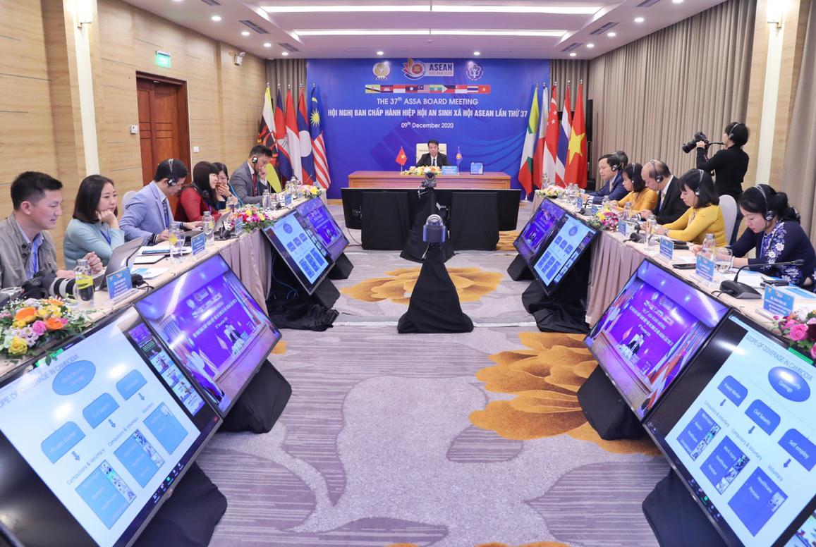 Toàn cảnh Hội nghị tại điểm cầu Việt Nam