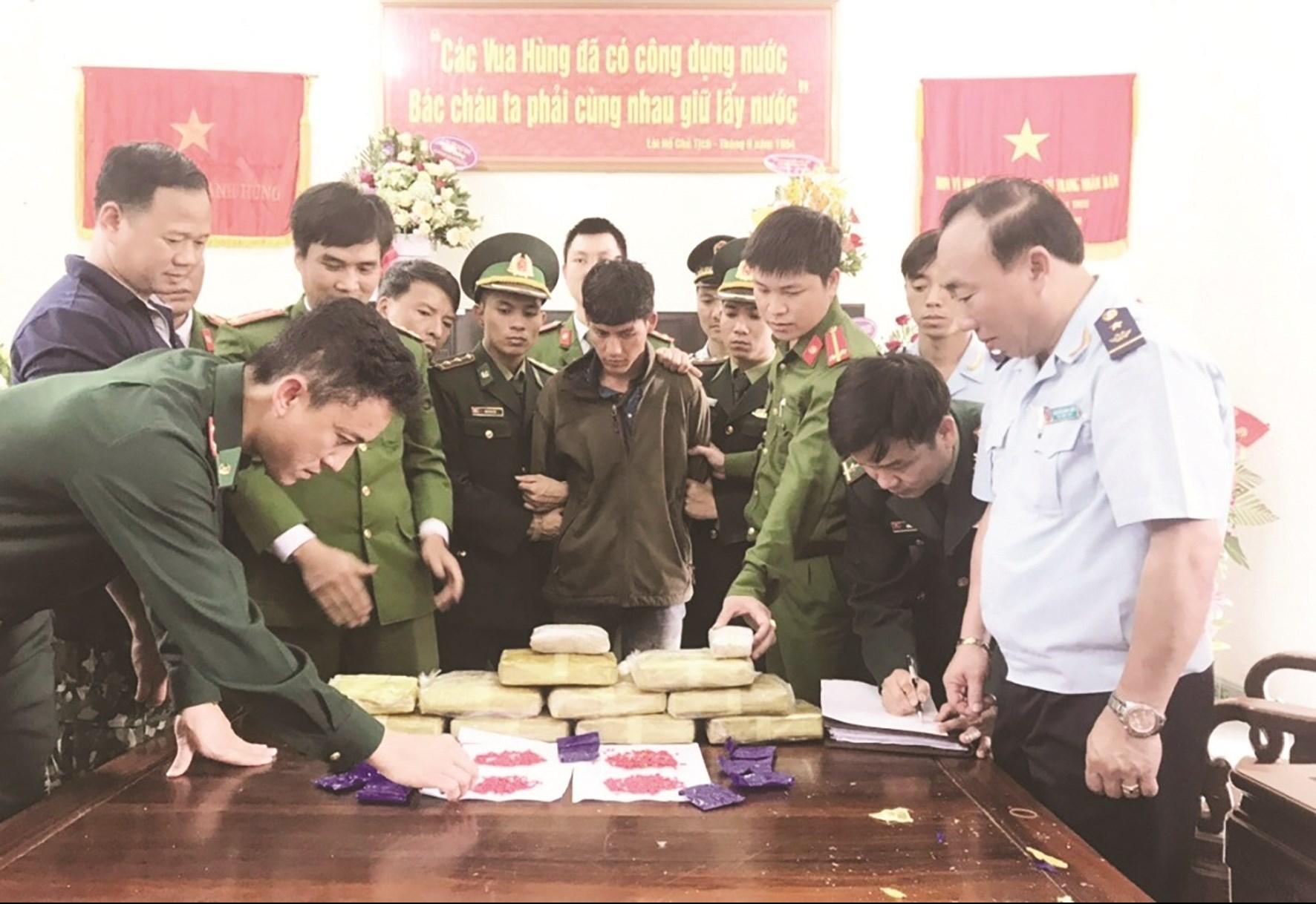 Việc phối hợp giữa các lực lượng chuyên trách phòng, chống ma túy sẽ làm tăng thêm sức mạnh và tính minh bạch